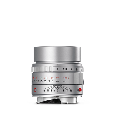 APO-SUMMICRON-M 50mm f2 ASPH. Silver anodized