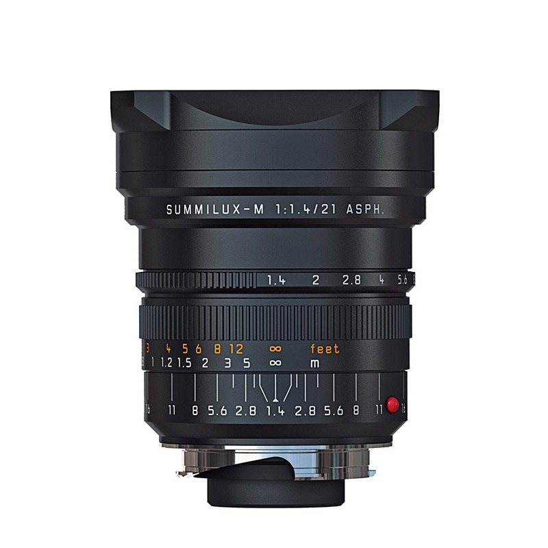 SUMMILUX-M 21mm f1.4 ASPH. black anodized finish