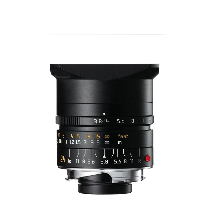 ELMAR-M 24mm f3.8 ASPH. black anodized finish