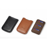 18539 - SD & Credit Card holder Cognac