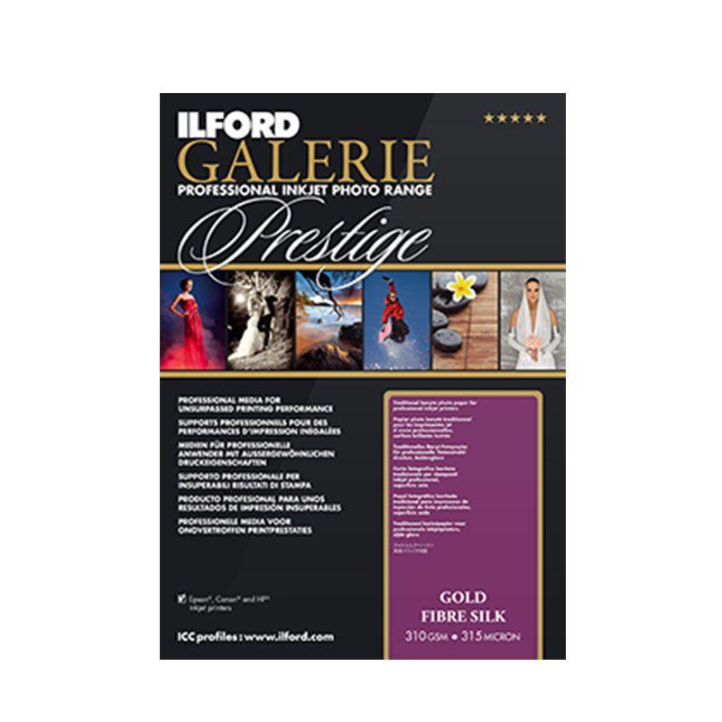 Ilford Galerie Gold Fibre Silk 310gsm A3+ 25pack