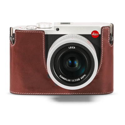 Protector Leica Q (Typ 116) leather, vintage brown, without embossing