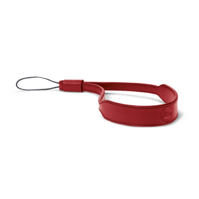 Wrist strap C-Lux, leather red