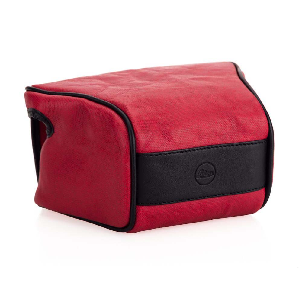 Ettas Pouch Coated Canvas Q2 Red