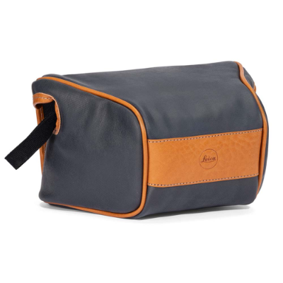 Ettas Pouch Coated Canvas Q2 Midnight Blue