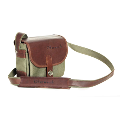 Oberwerth Bayreuth Olive Cordura Dark Brown Cow-Hide
