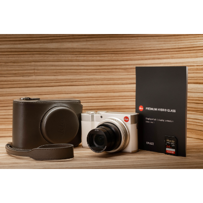 LEICA C-Lux Light Gold Complete Kit *Christmas Limited Offer*