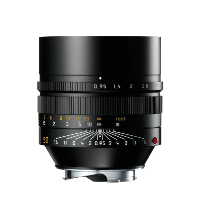 NOCTILUX-M 50mm f0.95 ASPH. black anodized