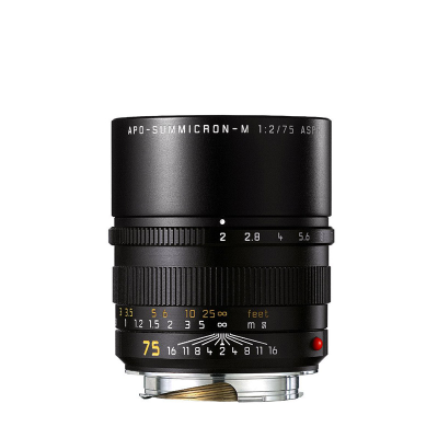 APO-SUMMICRON-M 75mm f2 ASPH. black anodized