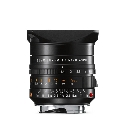 SUMMILUX-M 28mm f/1.4 ASPH., black anodized finish