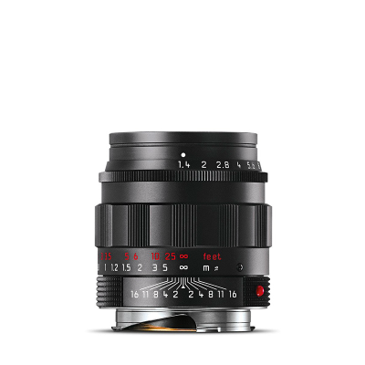 SUMMILUX-M 50mm f1.4 black chrome finish