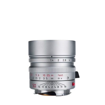 SUMMILUX-M 50mm f1.4 ASPH. silver chrome