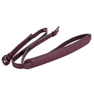 Leather Strap, Boysenberry