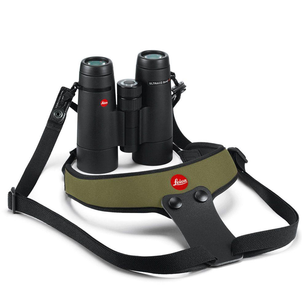 Leica Binocular Sport Strap Neoprene olive green