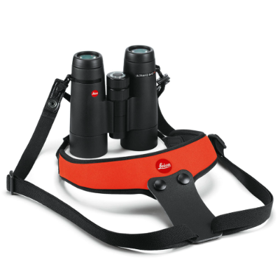 Leica Binocular Sport Strap Neoprene juicy orange