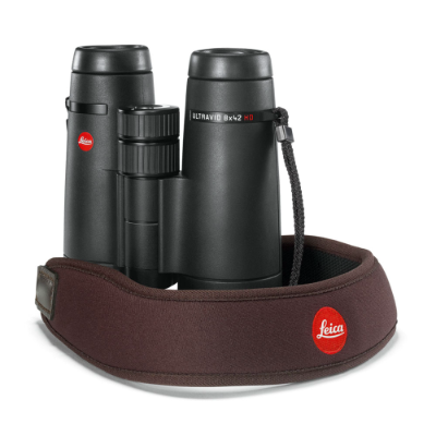 Leica Neoprene Binocular Strap chocolate brown