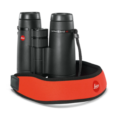 Leica Neoprene Binocular Strap juicy orange