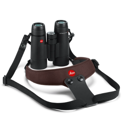 Leica Binocular Sport Strap Neoprene chocolate brown