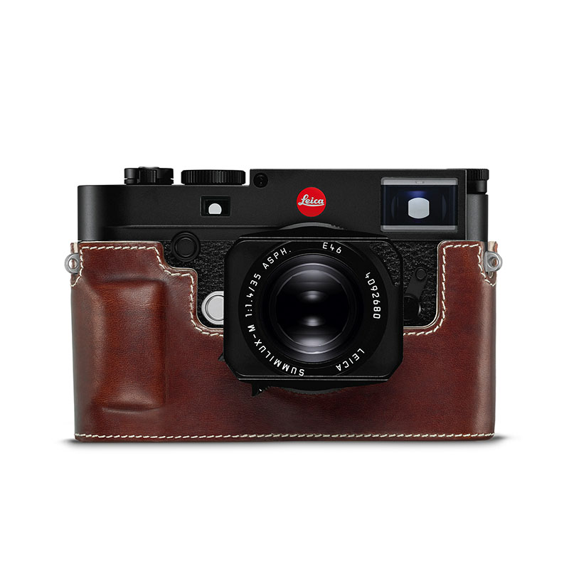 Leica Protector Case for M10 Leather Vintage Brown