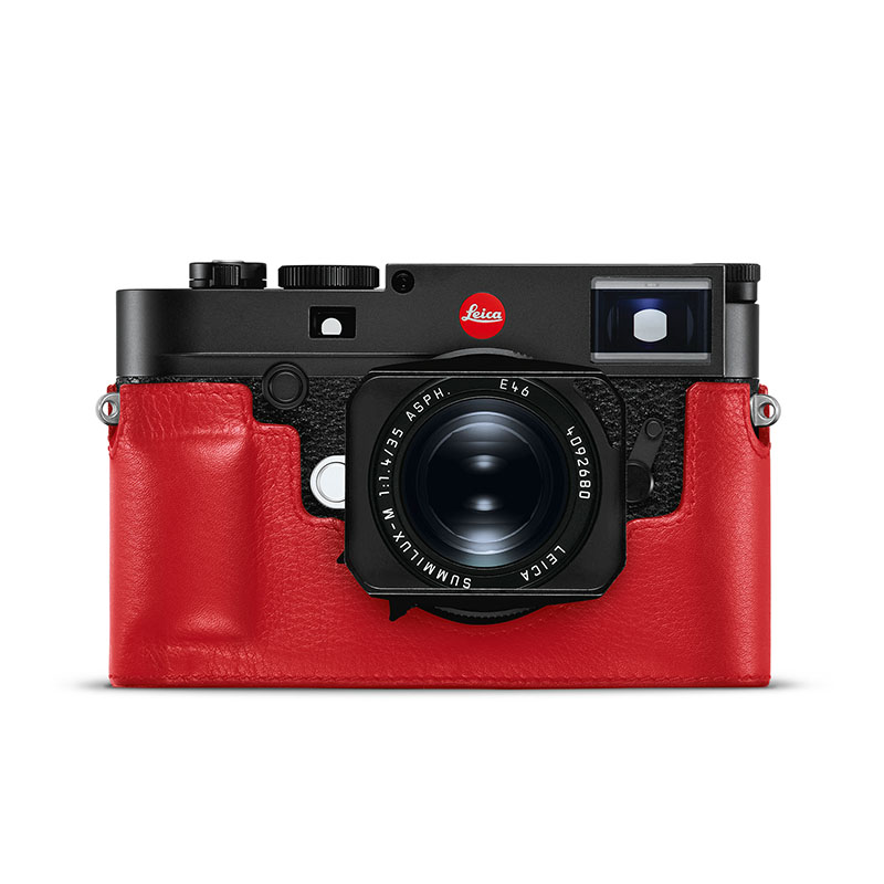 Leica Protector Case for M10 Leather Red