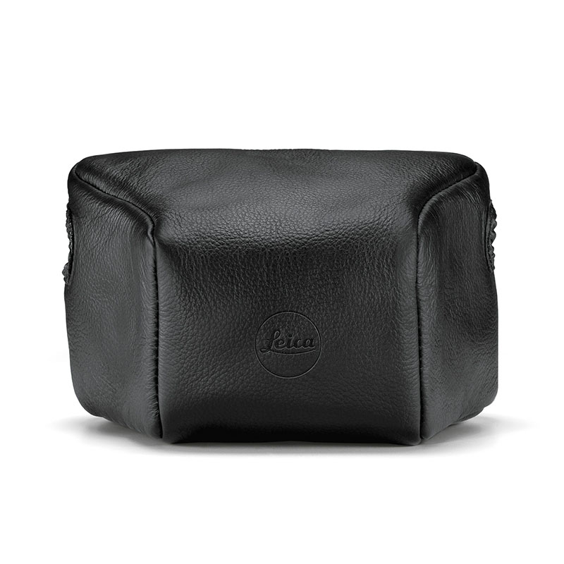 Leica Leather Pouch for M Black, Small Front
