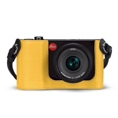 Leica Protector for TL leather, yellow