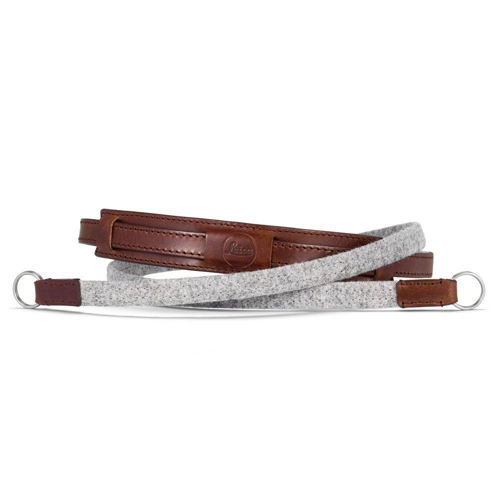 Neck Strap Lifestyle, Leather/Fabric, Grey