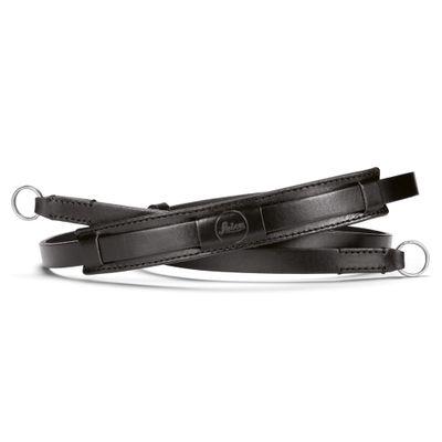 Neck Strap Vintage, Leather, Black