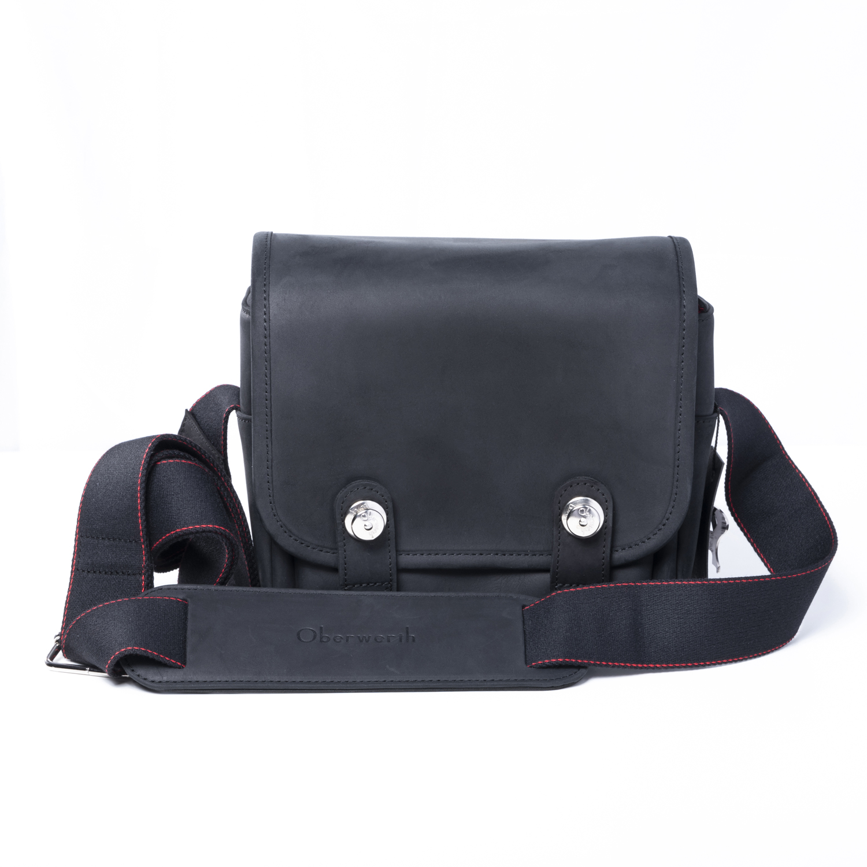 Oberwerth Q Bag Black Cow-Hide