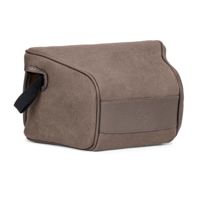 Ettas Pouch Coated Canvas Q2 Stone Grey