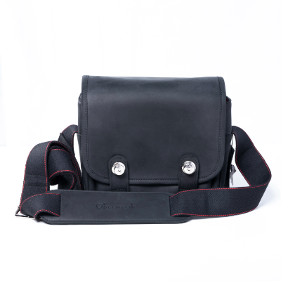 Oberwerth Q Bag Black Cow-Hide