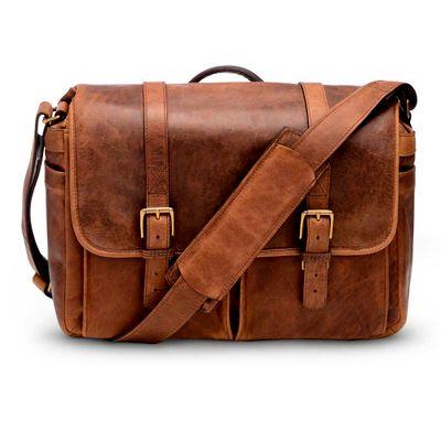ONA Bag, Brixton for Leica Leather Antique Cognac