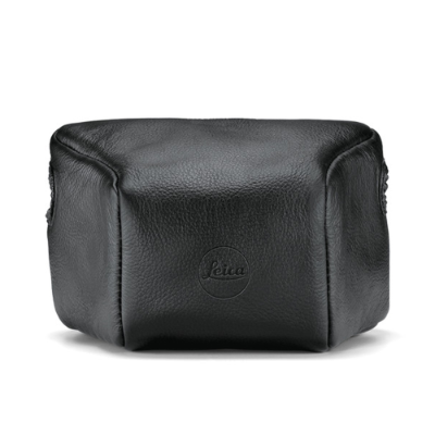 Leica Leather Pouch for M Black, Large Front