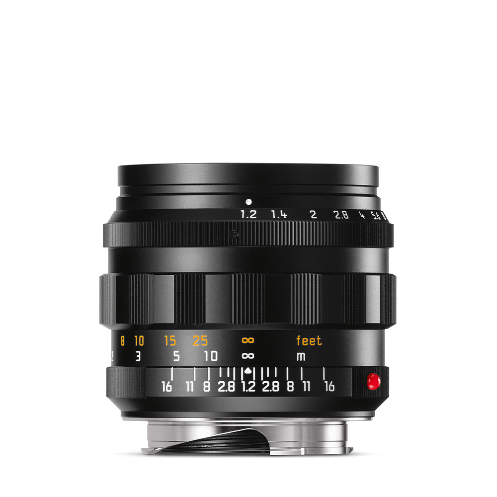NOCTILUX-M 50mm f1.2 ASPH. black anodized