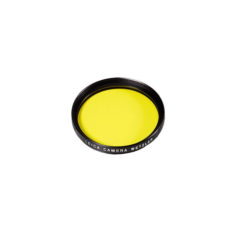 Leica Filter Yellow E49 black